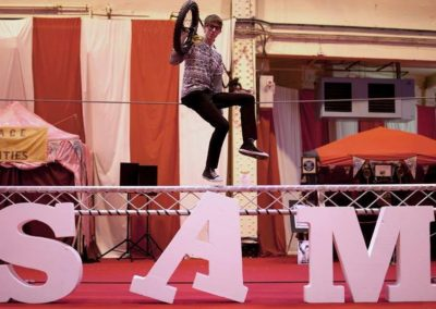 Sam G – Unicycle Circus Performer | UK