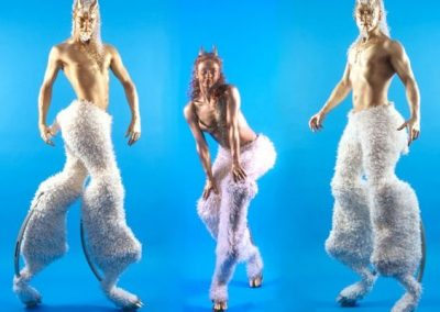 Satyrs – Stilt Walking Characters   Bristol  South West  UK
