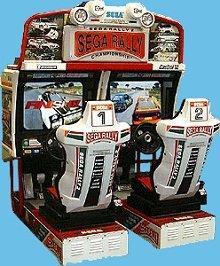 Sega Rally – Arcade Game | UK