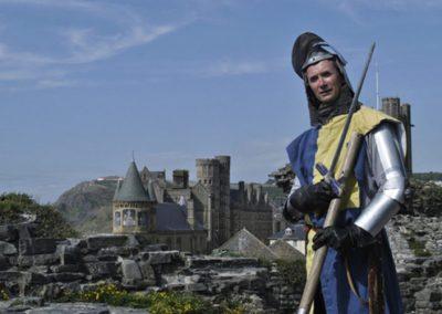 Sir Lupin – Stilt Walking Character   Aberystwth  Wales  UK