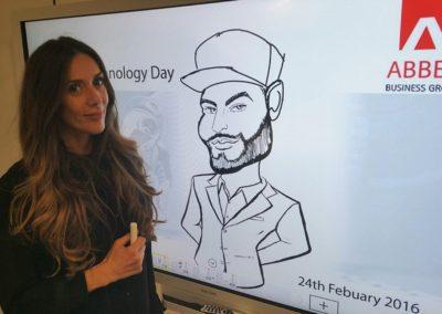 Sonya – Caricaturist & Digital Caricaturist | UK