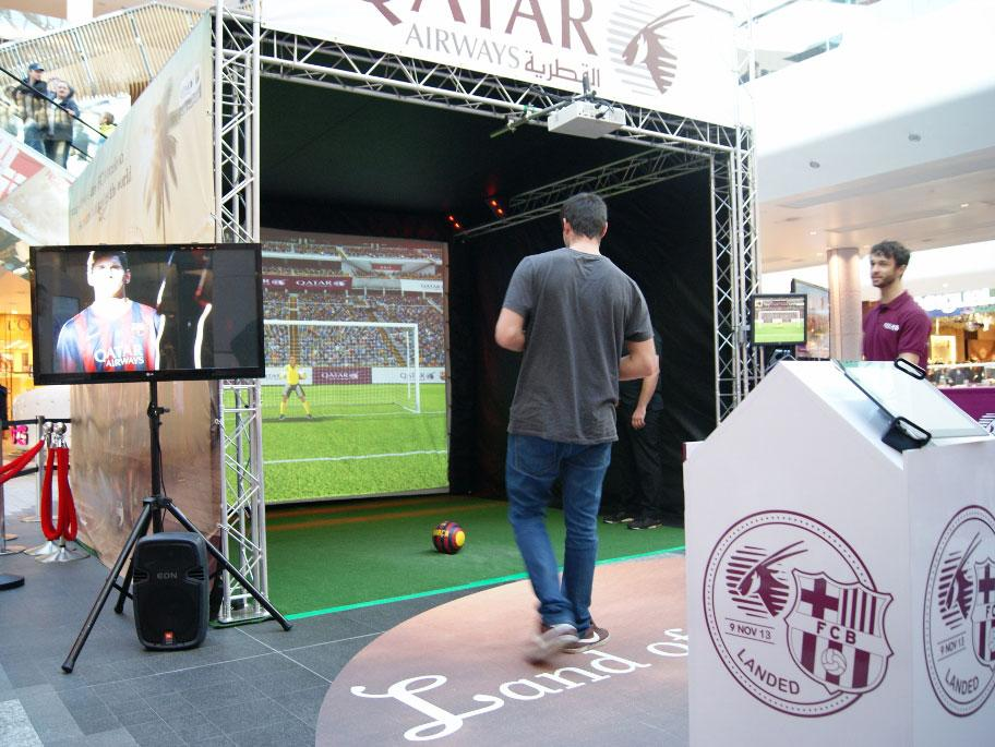 Booking agent for sport simulator