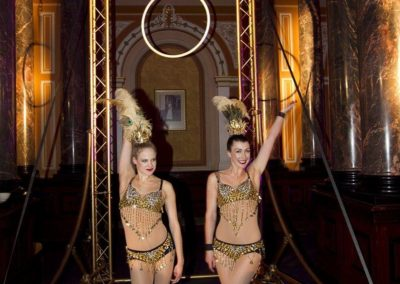 The Gold Showgirls – Aerial Hoop Duo | UK
