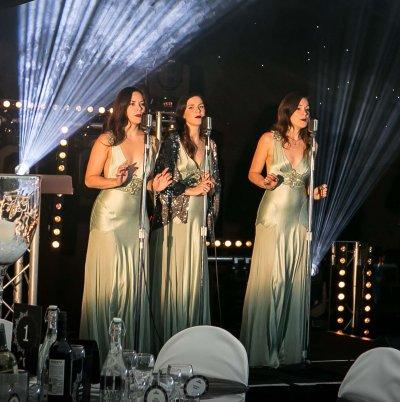 Booking agent for The Langley Trio - Retro Harmony Group