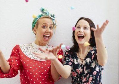 Meringue Girls – After Dinner Speaker & Event Hosts – Hospitality   UK