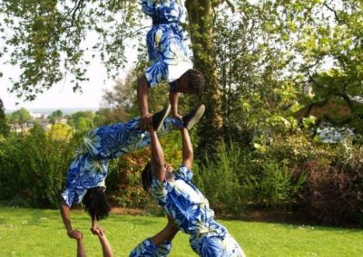 Acrobats: The Pyramid Troupe – Int.