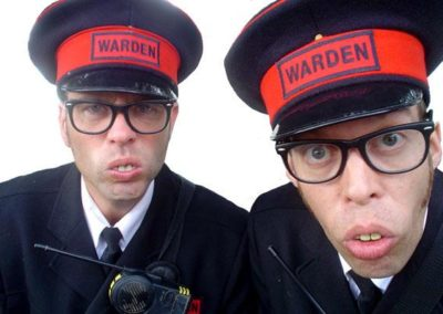 The Wardens – Comedy Street Act | UK