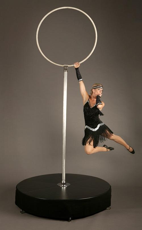 Booking Agent For Tink Free Standing Hoop Performer