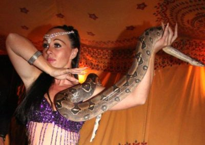 Tory & James – Snake Performers | UK