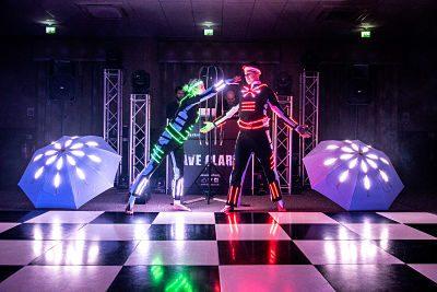 Acrobalance LED Show – LED Glow Show | UK