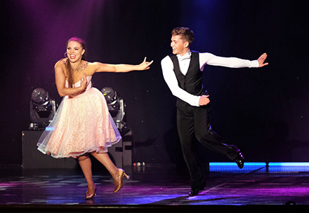 booking agent for aj chloe famous ballroom dancers