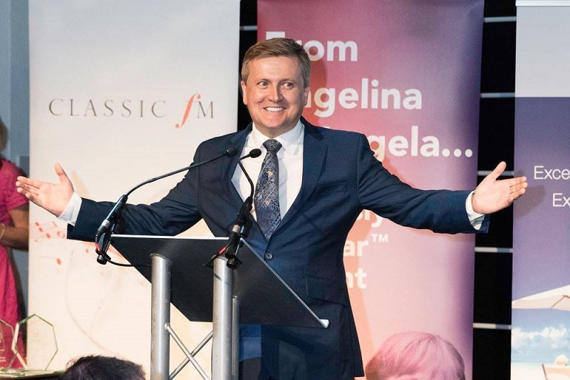 Booking agent for aled jones