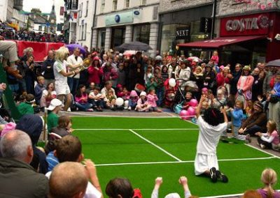 Anyone For Tennis? – Comedy Street Show | UK