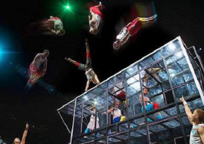 Acrobatic Show: Art on a Trampoline – France