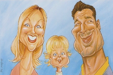 book paul caricaturist feature