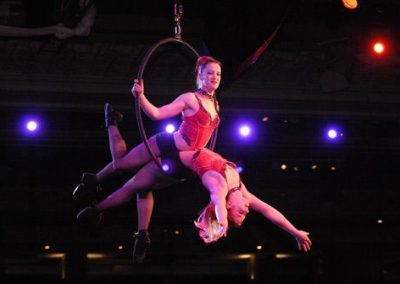 Claire and Nicole – Aerial Silk & Hoop | UK