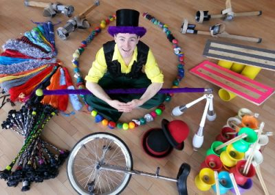 Circus Workshops: Edinburgh Performers – Scotland