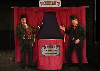 The Fanshaws – Street Theatre | Glamorgan| South Wales| UK