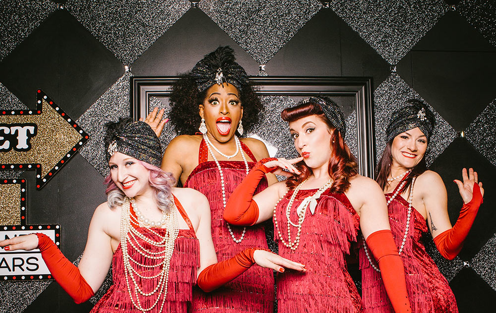 booking agent for folly mixtures burlesque dancers