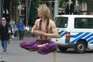 Hire / Book Ramana levitationist