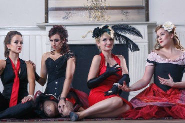 Hire / Book the ruby dolls cabaret show