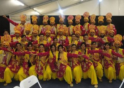 Indian: Punjabi Dance Troupe – Bhangra Dancers | UK