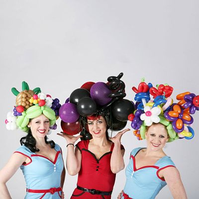 Booking agent for the inflate a belles
