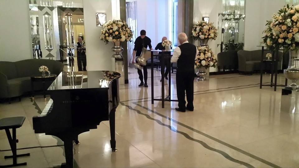 Booking Agent For Lee Pianist Contraband Events