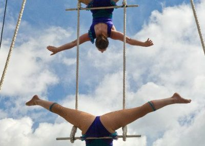 Lisa & Jessie – Double Trapeze Act | UK