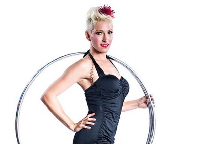 Loz Because | Cabaret Hula Hoop Show | UK