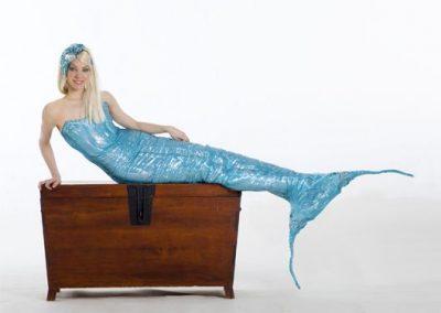 Mermaid – Living Human Statue & Walkabout Character | UK