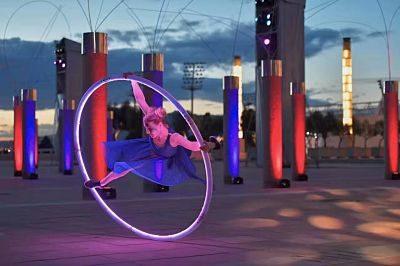 Nadia – LED Cyr Wheel Performer | UK