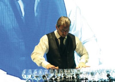 Petr – Glass Harpist | Czech Republic