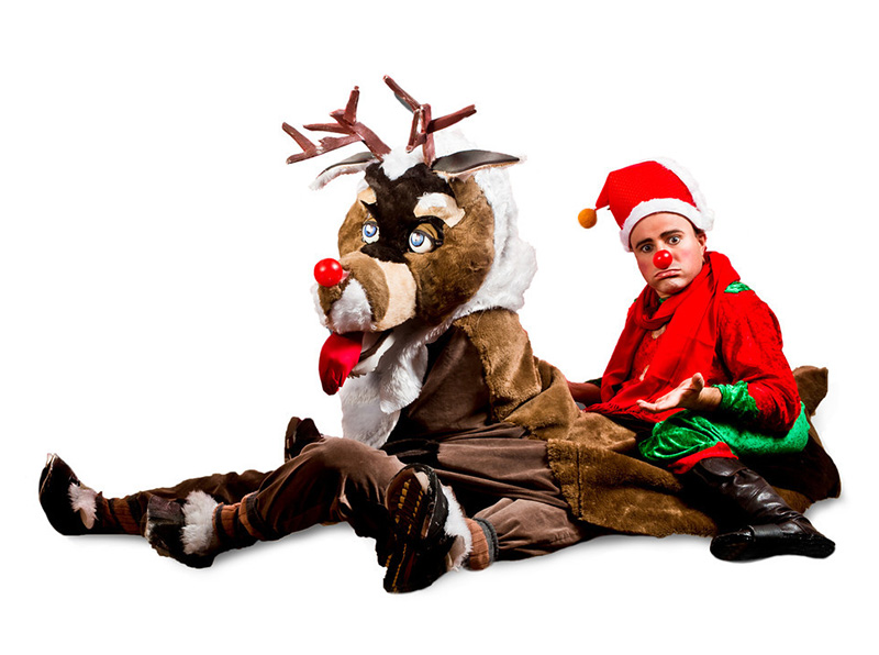 booking agent for reindeer elf walkabout characters