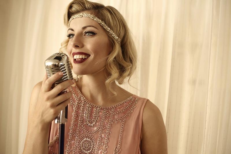 booking agent for sarah vintage singer