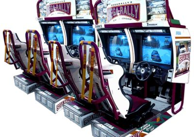 Sega Rally 2 & Sega Rally 4 Seater – Arcade Game    UK