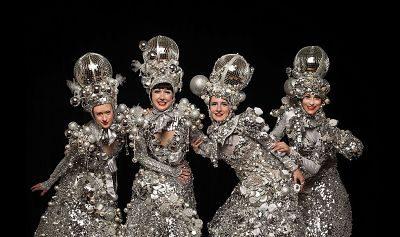 The Silver Belles – Stilt Walkers   UK