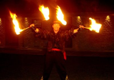 booking agent for steen fire performer