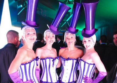 Hire book promo staff promo hostesses contraband events for Human canape trays