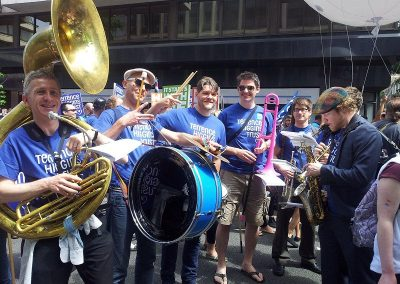 The Volcanoes – Brass Band | UK