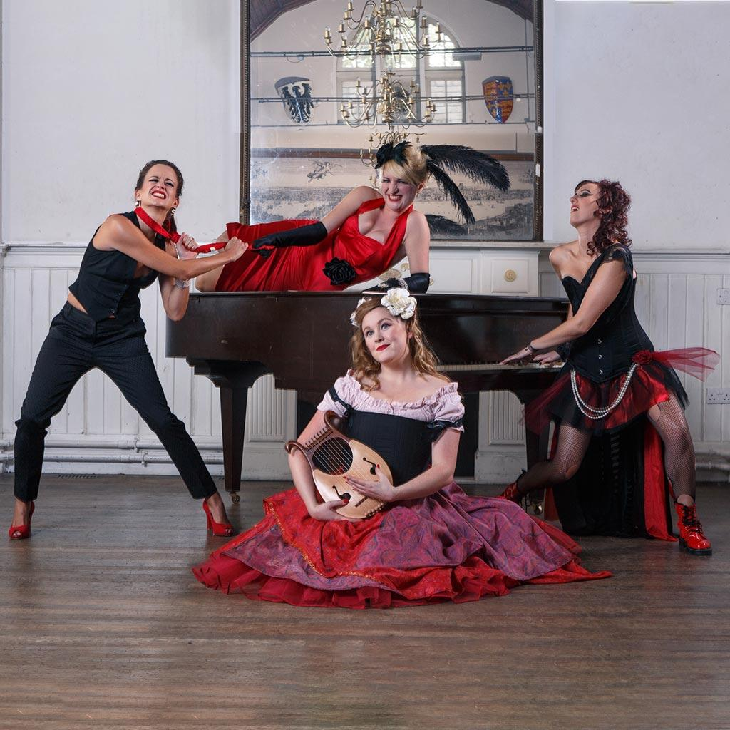 Entertainment Agency: Booking Agency for The Ruby Dolls (cabaret act)