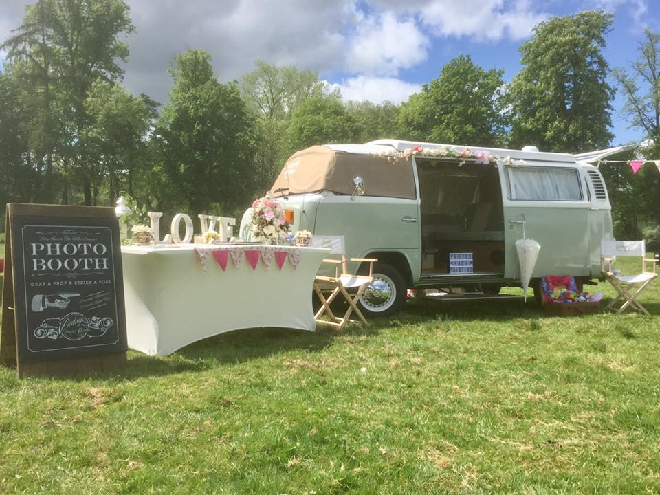 booking agent for vw camper van photo booth