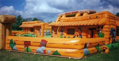 Wild West Run – Bouncy Castles & Soft Play | UK