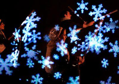 3 Man LED / Glow Show: Wonderland – Germany & Int.