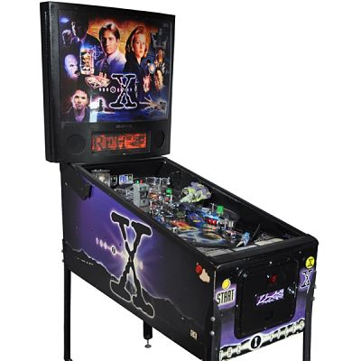 Booking agent for x files pinball machine