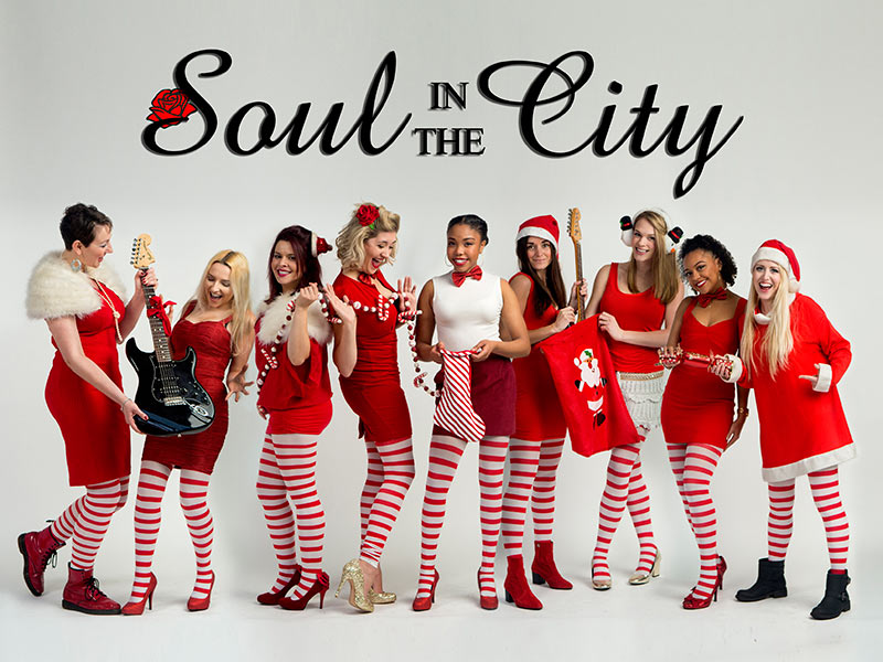 booking agent for Soul In The City female function band