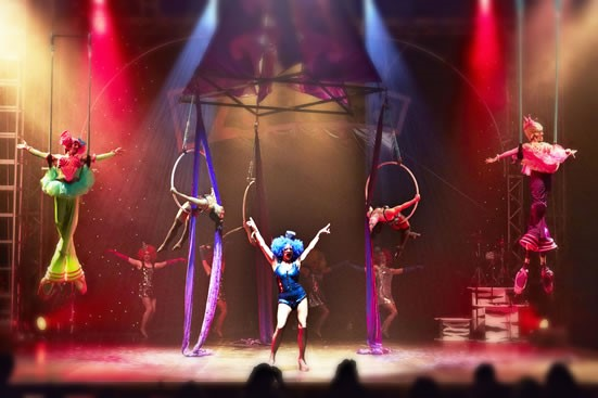Entertainment Agency: Booking Agency for circus entertainment
