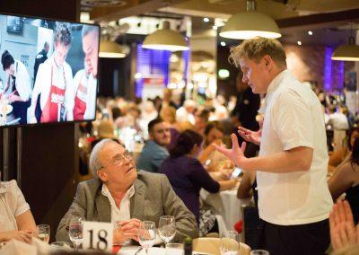 Restaurant promotion Gordon Ramsay lookalike Martin Jordan
