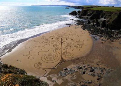 Sand Artist, Ireland & International: Sean