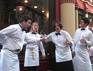 HV Singing Waiters | UK